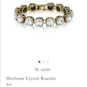 Heirloom crystal bracelet